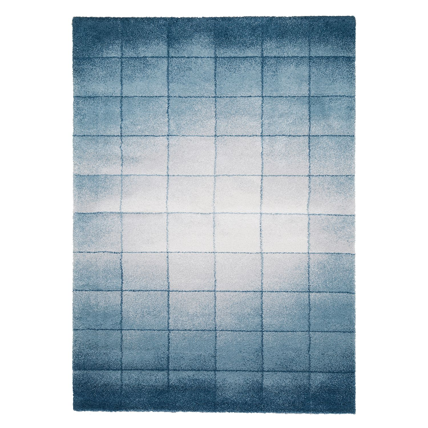 tapis beau cosy tissu m lang bleu gris 160 x 230 cm studio copenhagen le fait main. Black Bedroom Furniture Sets. Home Design Ideas