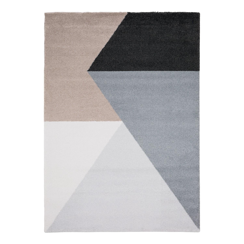 Hoogpolig tapijt Beau Cosy - textielmix - Grijs/taupe - 160x230cm, Studio Copenhagen