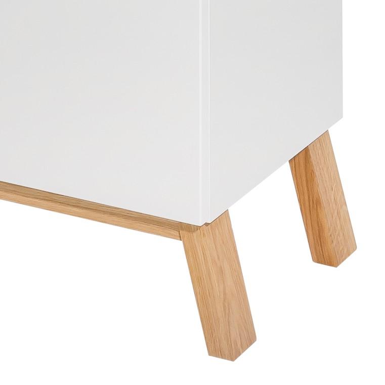 waschbeckenunterschrank venlo hochglanz wei eiche. Black Bedroom Furniture Sets. Home Design Ideas
