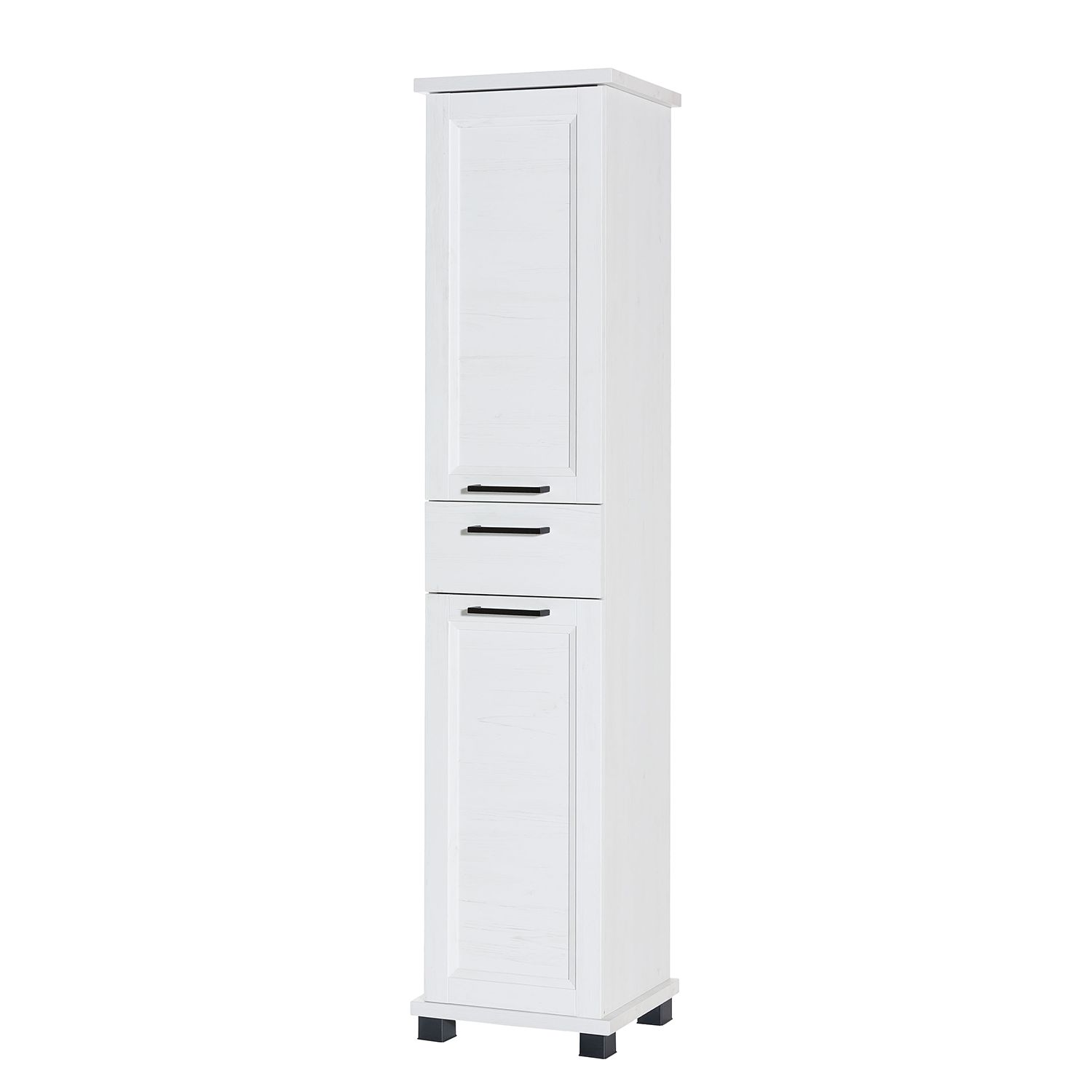 Armoire Visano I - Imitation pin blanc, Schildmeyer
