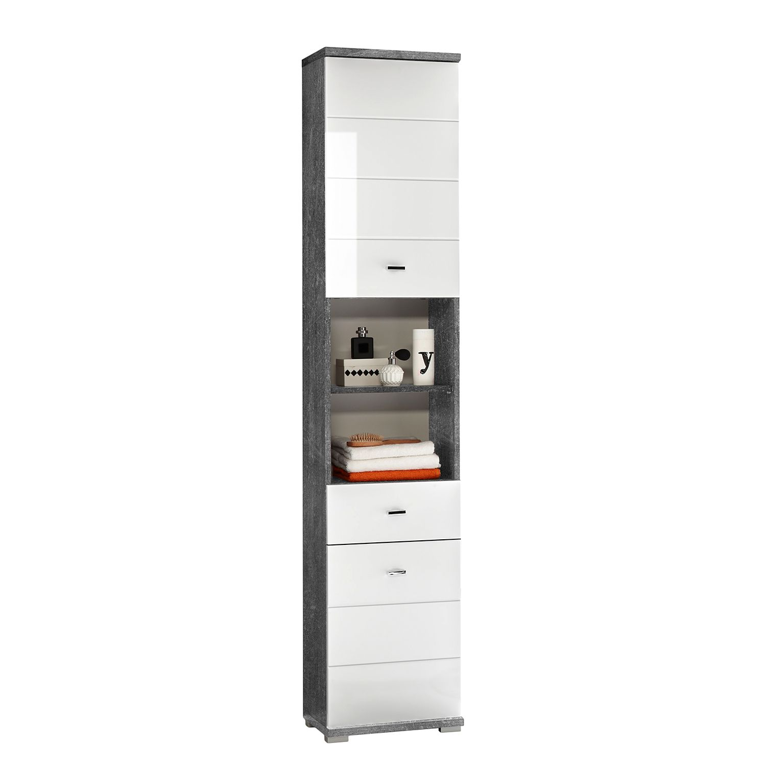 Armoire Wyntoon - Granite royal, mooved