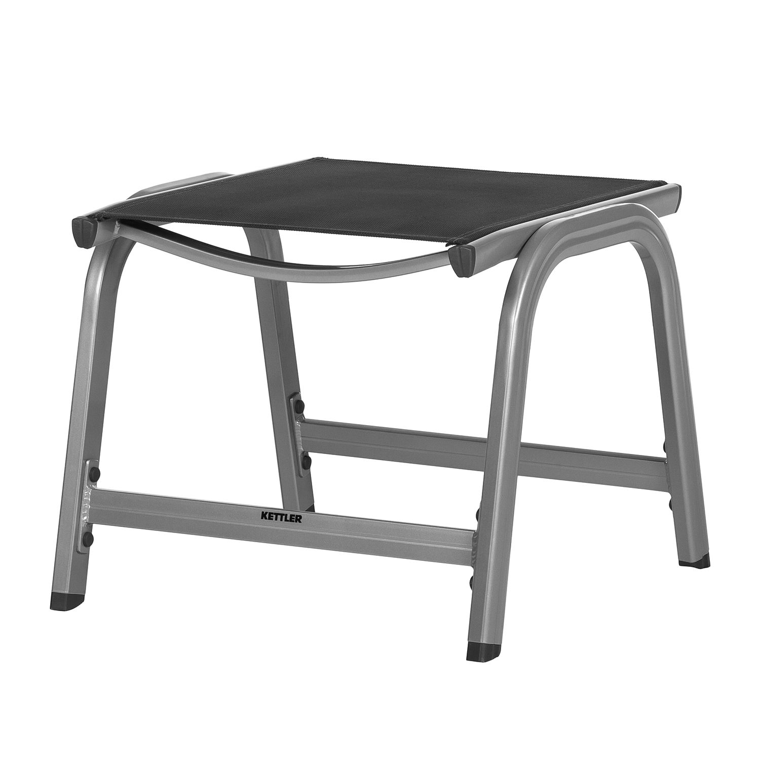 Hocker Basic Plus - Silber/Anthrazit, Kettler