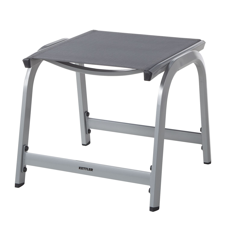 Hocker Friends - aluminium/kunstvezel - aluminium/antracietkleurig, Kettler
