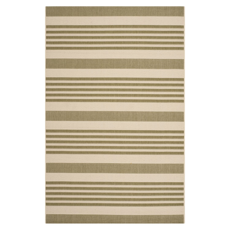 In-/outdoortapijt Gemma - groen/beige: groen/beige afmetingen: 160x231cm, Safavieh