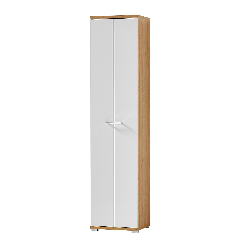 Armoire de vestibule Arcola - Imitation chêne Riviera - Blanc mat, loftscape