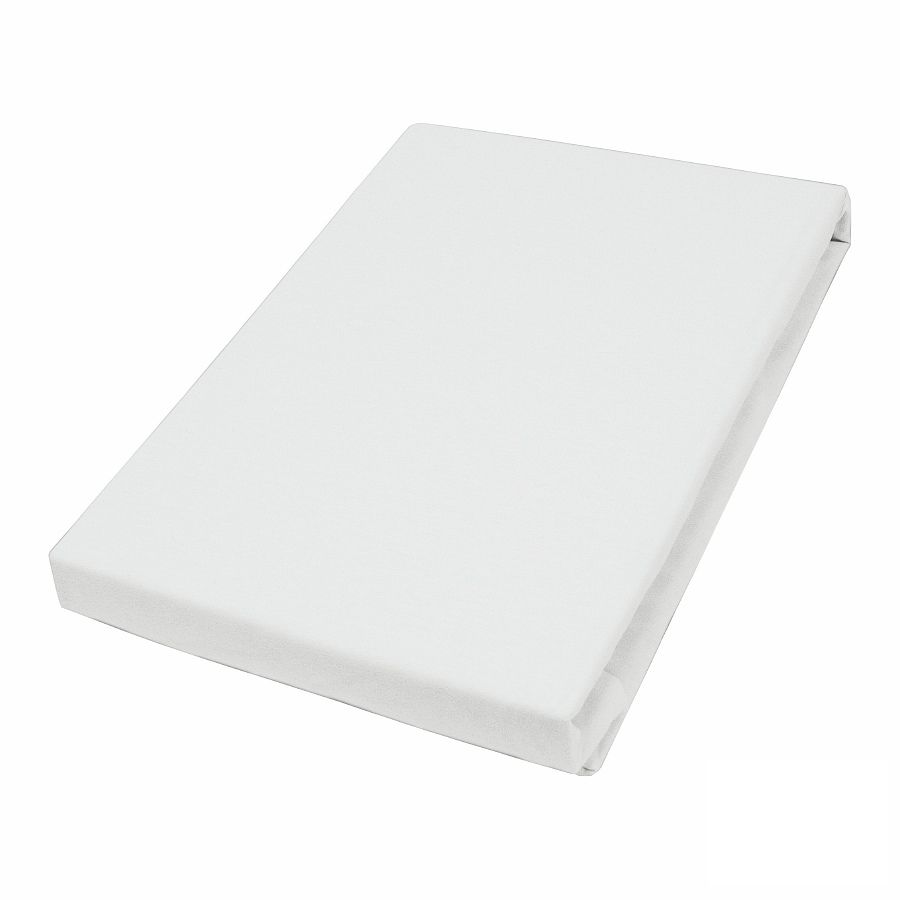 Home 24 - Drap-housse en jersey - blanc - 180-200 x 200 cm, vario