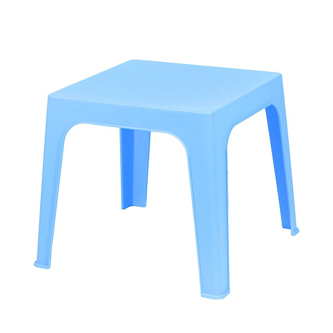 Home 24 - Table d enfant julieta - matériau synthétique - azur, kids club collection
