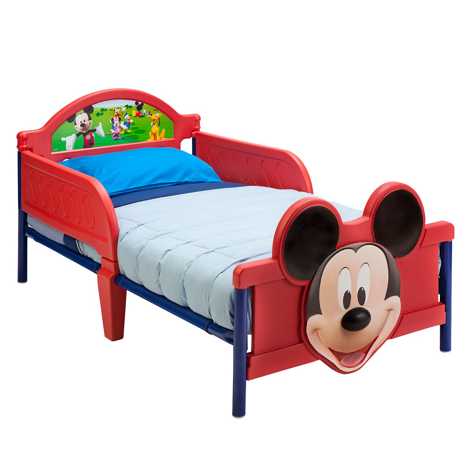 pin bett micky mouse on pinterest. Black Bedroom Furniture Sets. Home Design Ideas