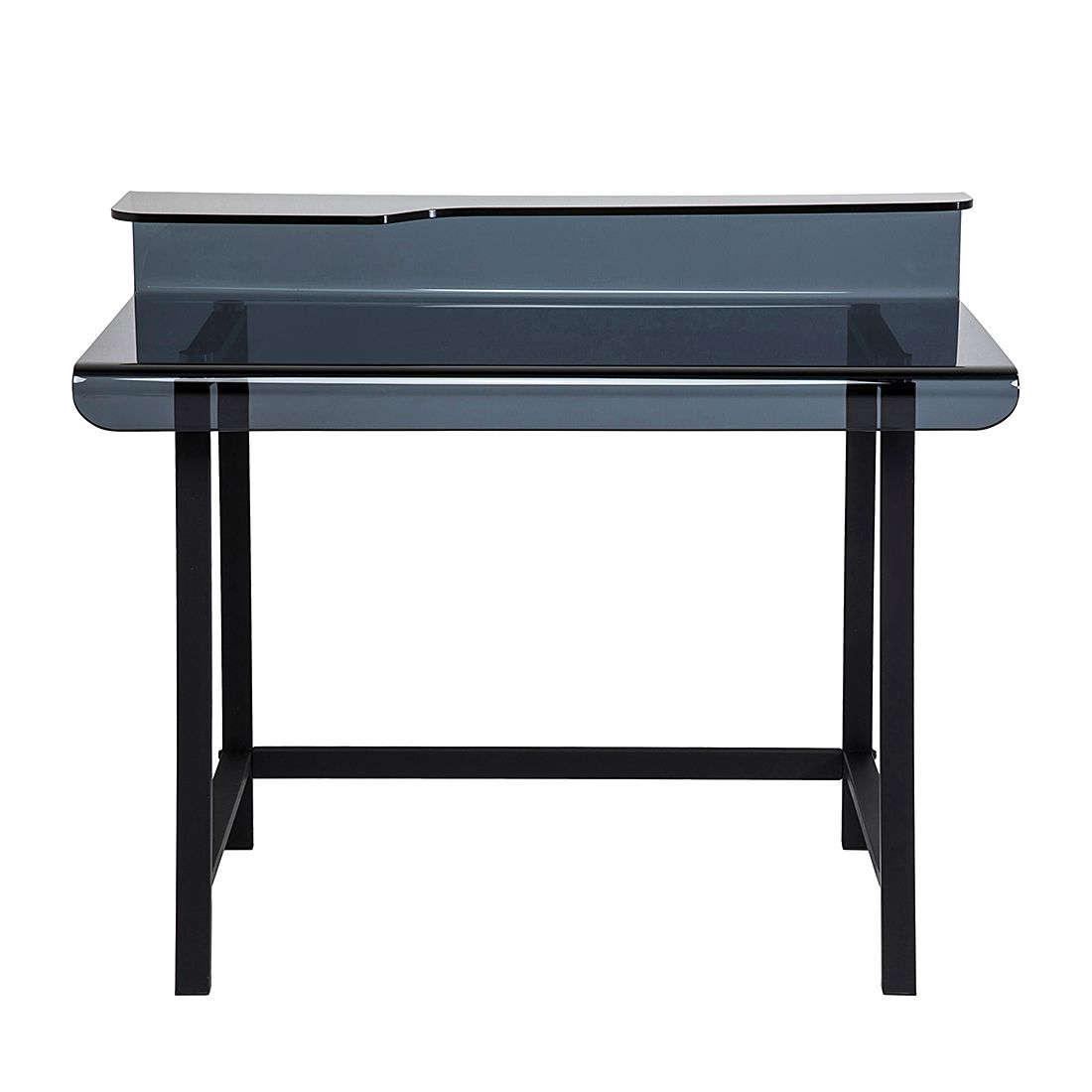 miliboo bureau design metal gris et noir comparer les. Black Bedroom Furniture Sets. Home Design Ideas