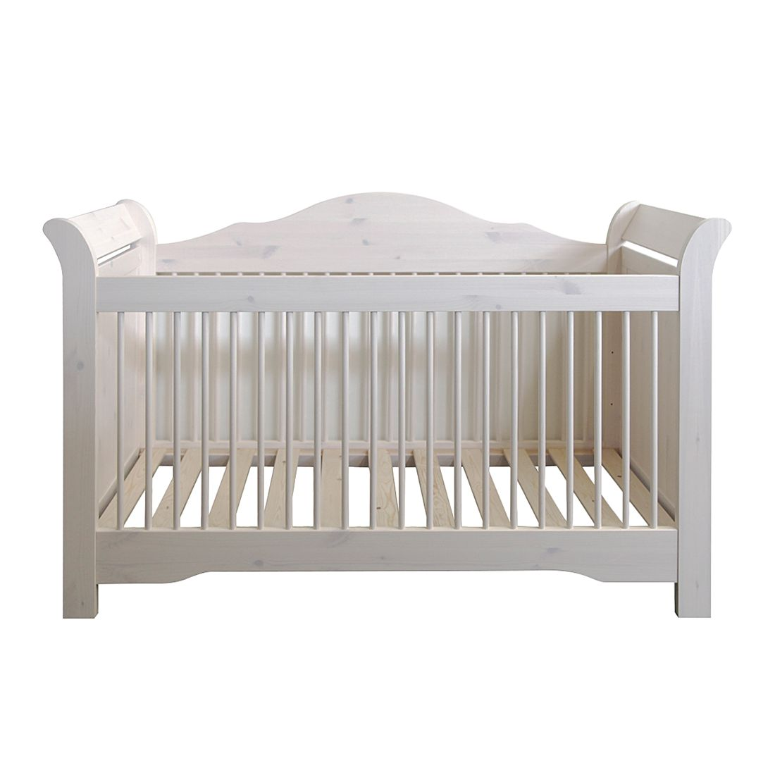 Kinderbed Karlotta   massief grenenhout white wash   White Washed_ Steens