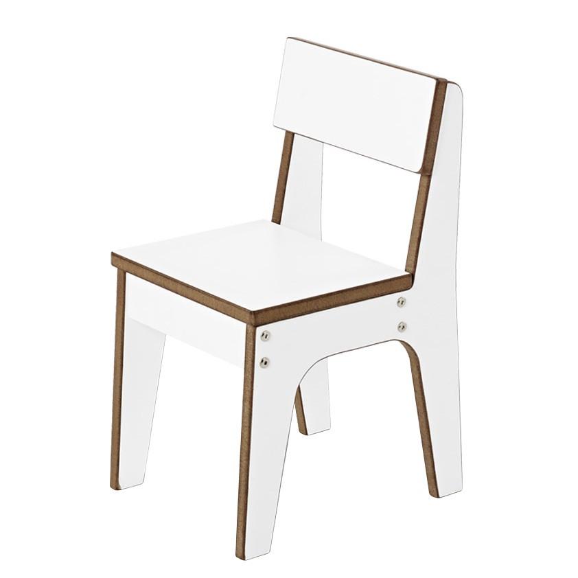 Home 24 - Chaise enfant juno - blanc, pinolino