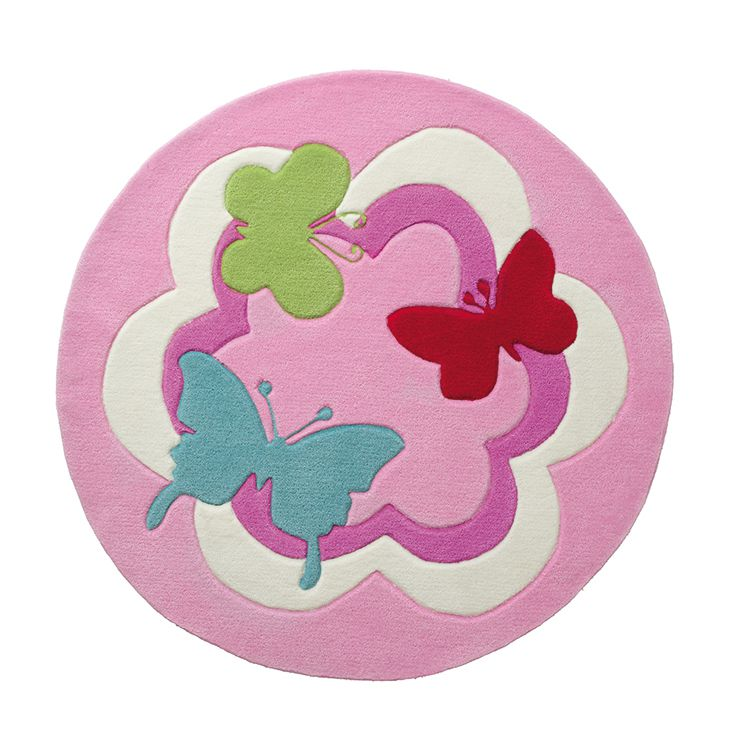 Kindertapijt Butterfly Party - 100cm, Esprit Home