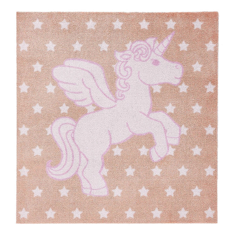 Kindertapijt Eenhoorn - kunstvezel - roze, Zala Living