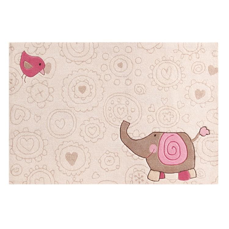 Kindervloerkleed Happy Zoo olifant - 120x180cm, Sigikid