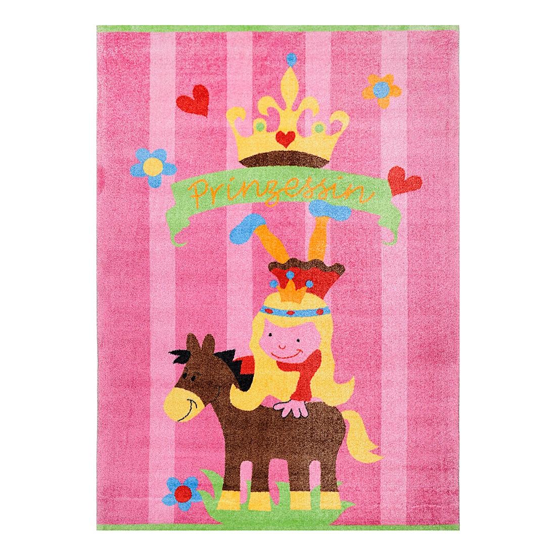 Kindertapijt Mamba   roze  140cmx200cm_ Theko die markenteppiche