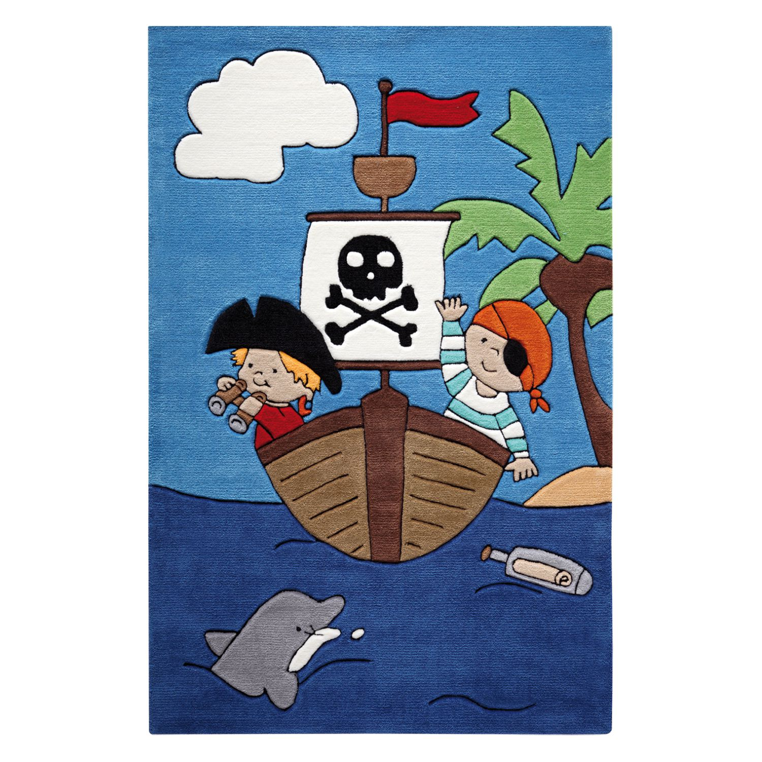 Kinderteppich Pirate Kids - 130 x 190 cm, SMART KIDS