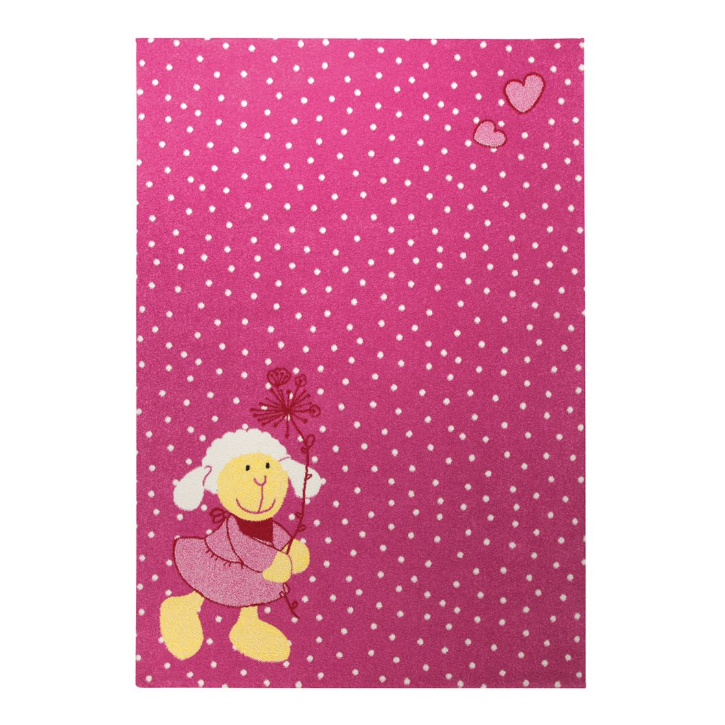 Kindervloerkleed Schnuggi - roze - 160x225cm, Sigikid