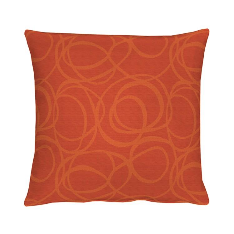 Home 24 - Coussin alabama - rouge / orange - 48 x 48 cm, apelt