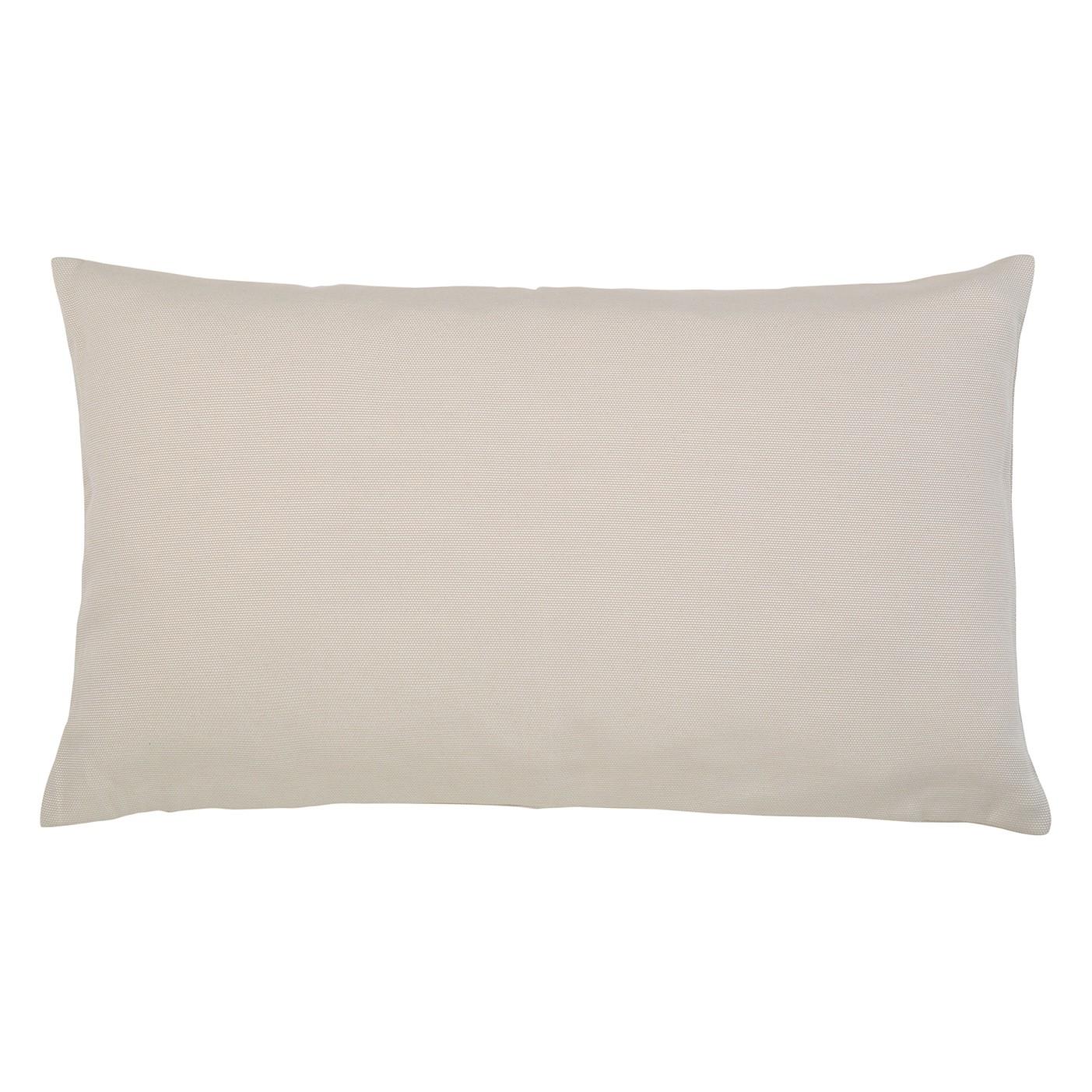 Kissen Juno - Baumwollmischgewebe - Beige - 30 x 50 cm