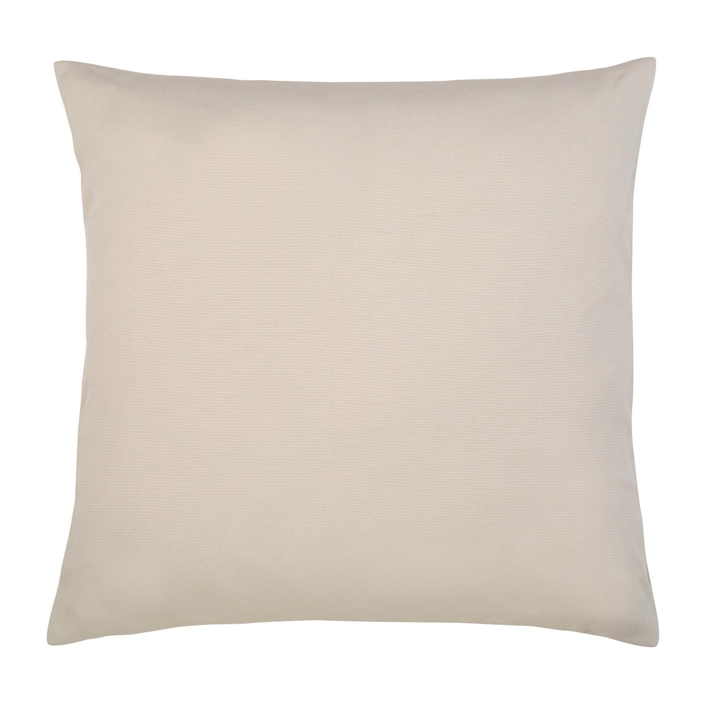 Kissen Juno - Baumwollmischgewebe - Beige - 50 x 50 cm