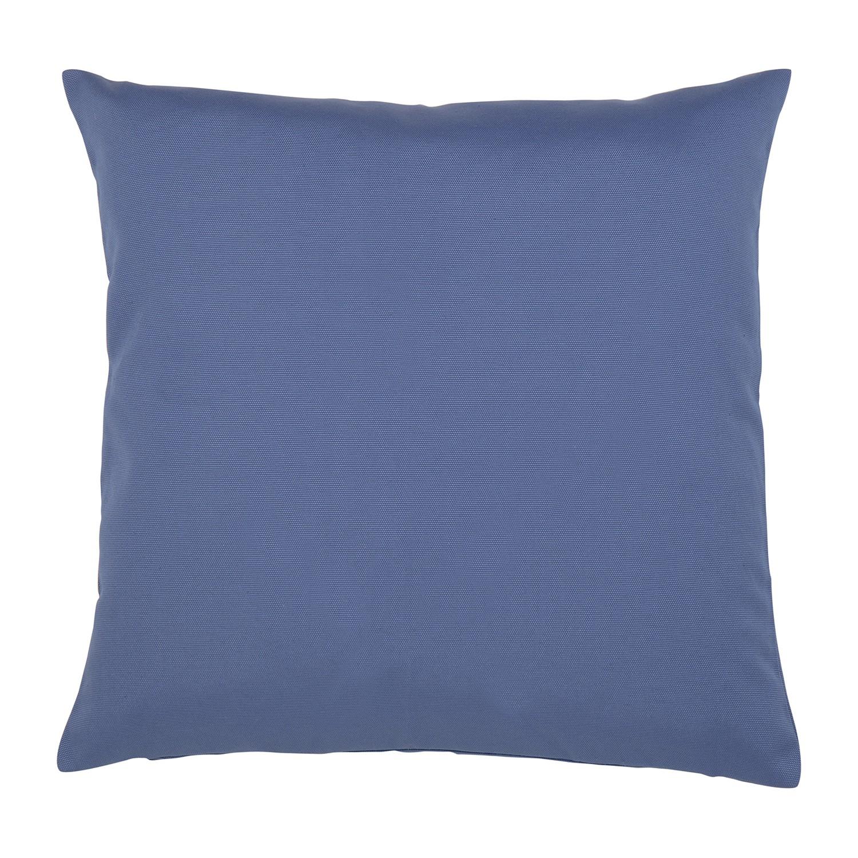 kissen juno baumwollmischgewebe dunkelblau 50 x 50 cm jetzt bestellen. Black Bedroom Furniture Sets. Home Design Ideas