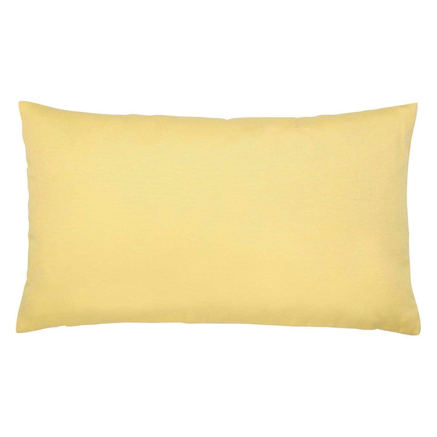 Kissen Juno - Baumwollmischgewebe - Gelb - 30 x 50 cm