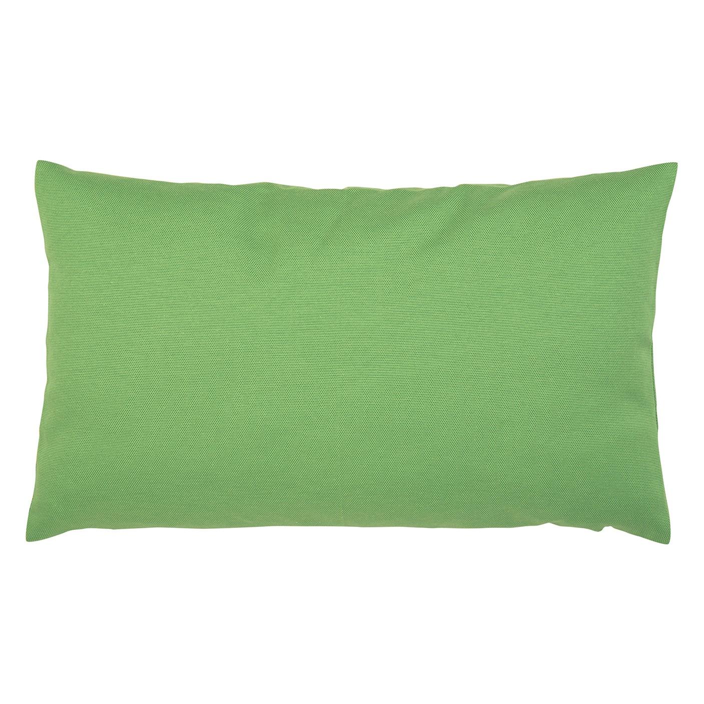 Kissen Juno - Baumwollmischgewebe - Grün - 30 x 50 cm