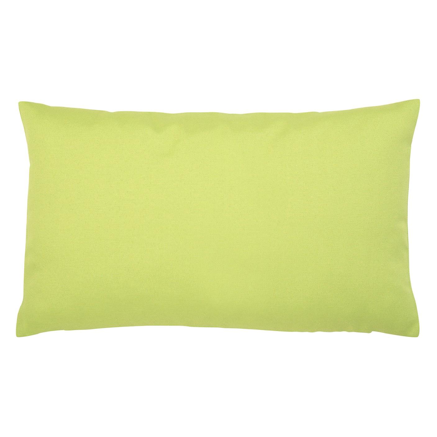 Kissen Juno - Baumwollmischgewebe - Lindgrün - 30 x 50 cm