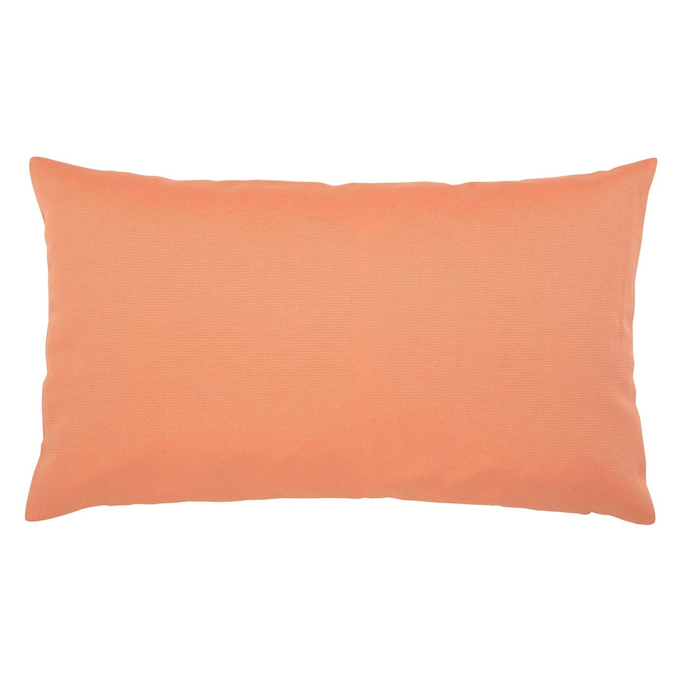Kissen Juno - Baumwollmischgewebe - Orange - 30 x 50 cm