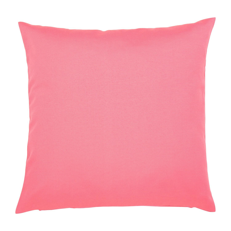 Kissen Juno - Baumwollmischgewebe - Pink - 50 x 50 cm