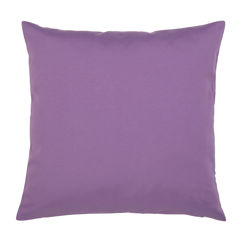 Kissen Juno - Baumwollmischgewebe - Violett - 50 x 50 cm