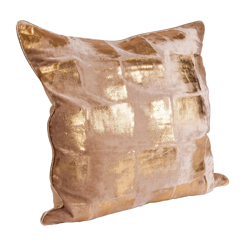 coussin louis tissu dor wittkemper living le fait main. Black Bedroom Furniture Sets. Home Design Ideas