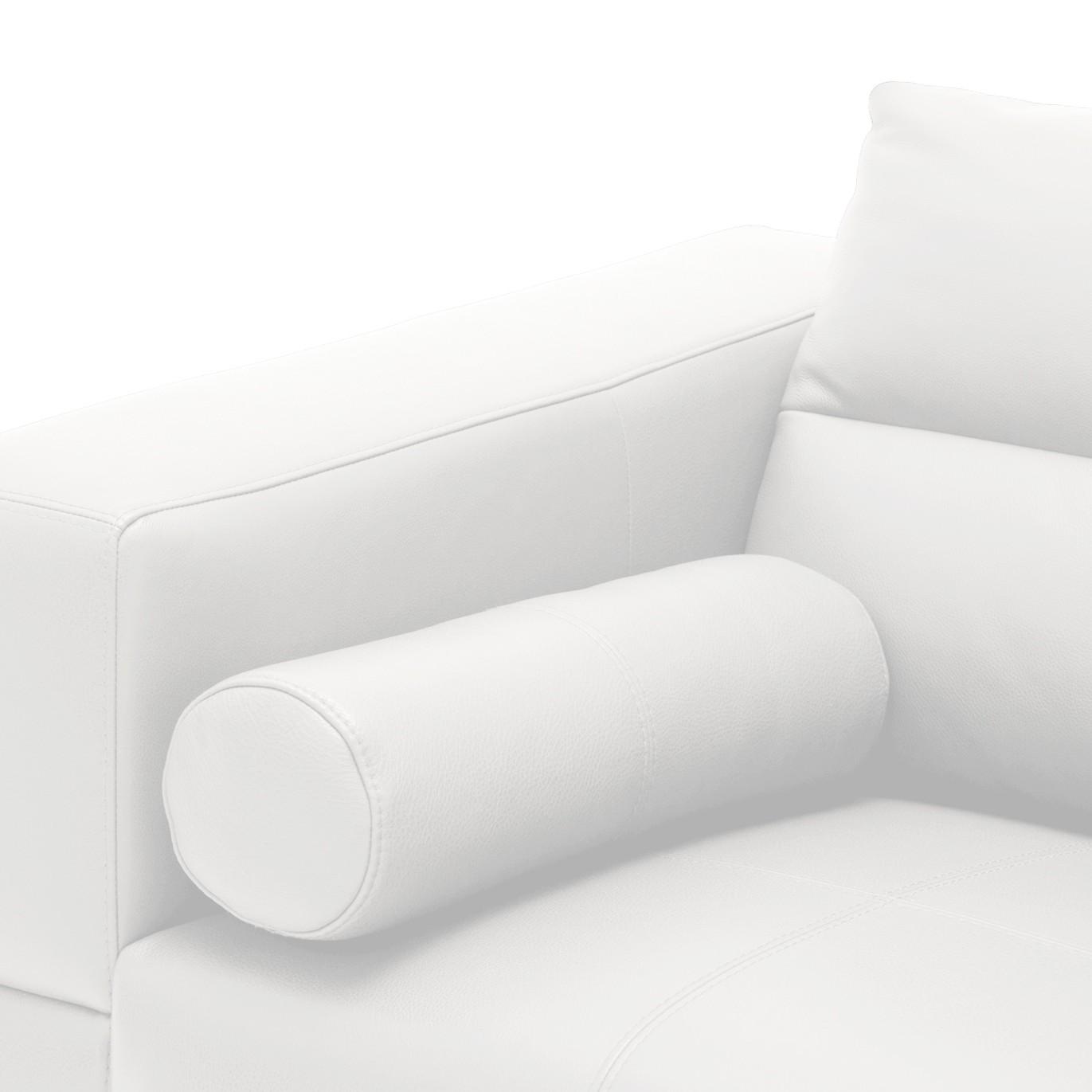 Kissen Omnia - Echtleder - Echtleder Neka Weiß