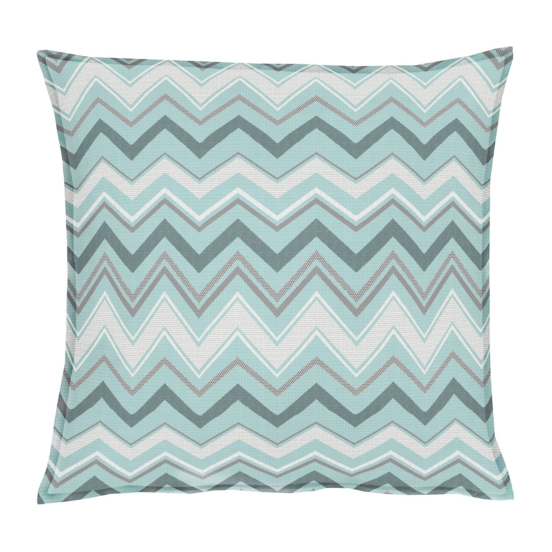 coussin outdoor ii tissu m lang gris clair bleu ciel. Black Bedroom Furniture Sets. Home Design Ideas