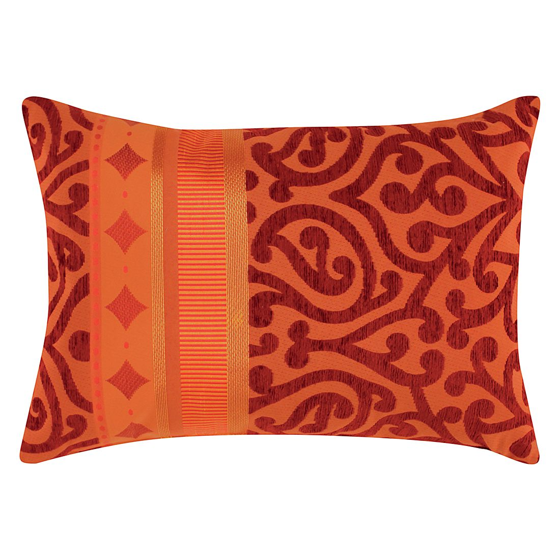 Home 24 - Coussin prato - rouge, apelt