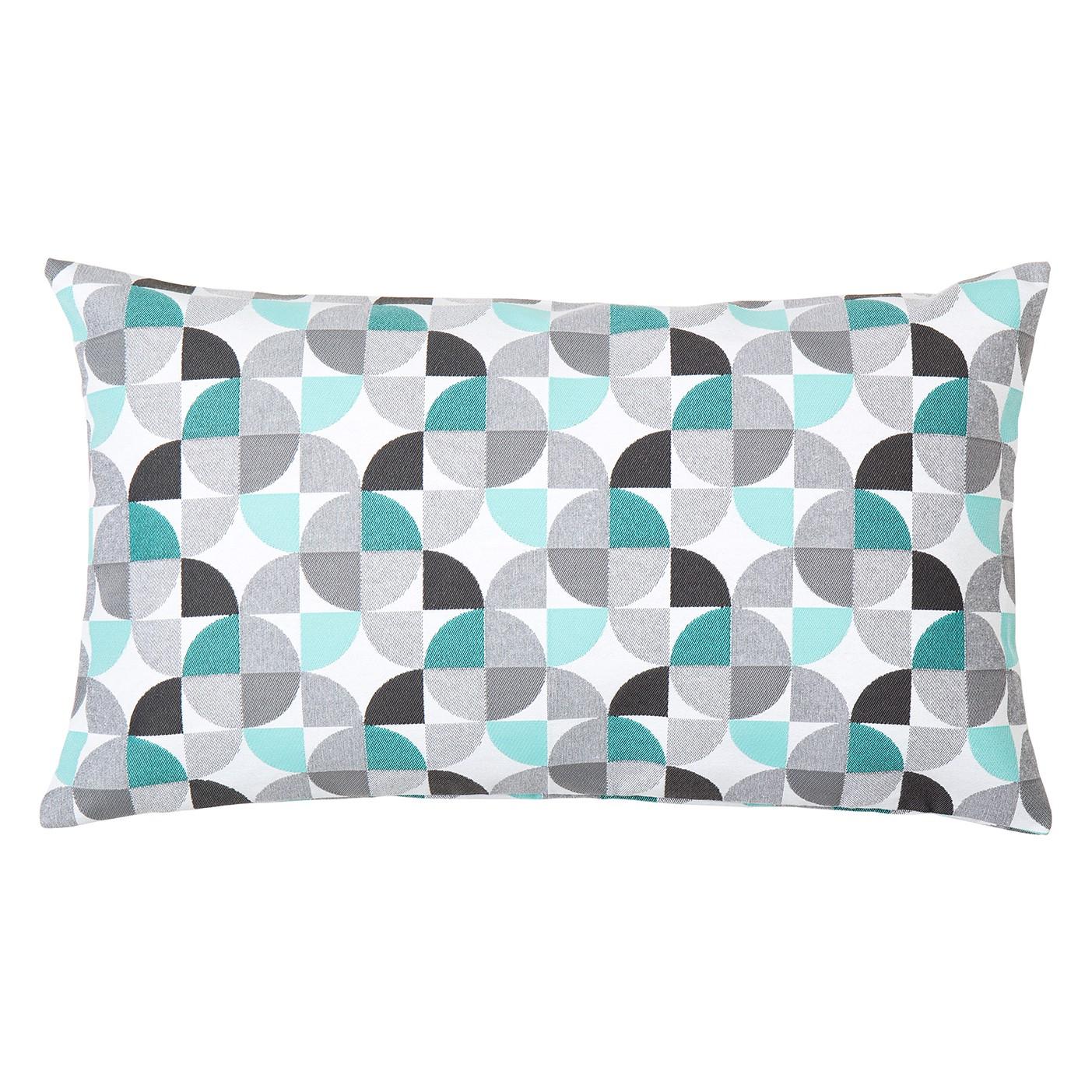 kissen quadrant mischgewebe mehrfarbig 30 x 50 cm kaufen. Black Bedroom Furniture Sets. Home Design Ideas