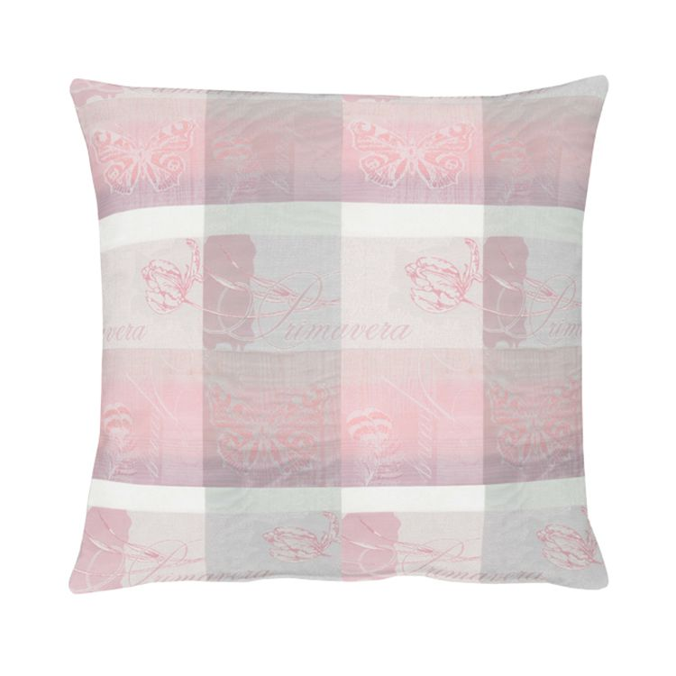 Kussen Summer Garden I - Pink - 48x48cm, Apelt