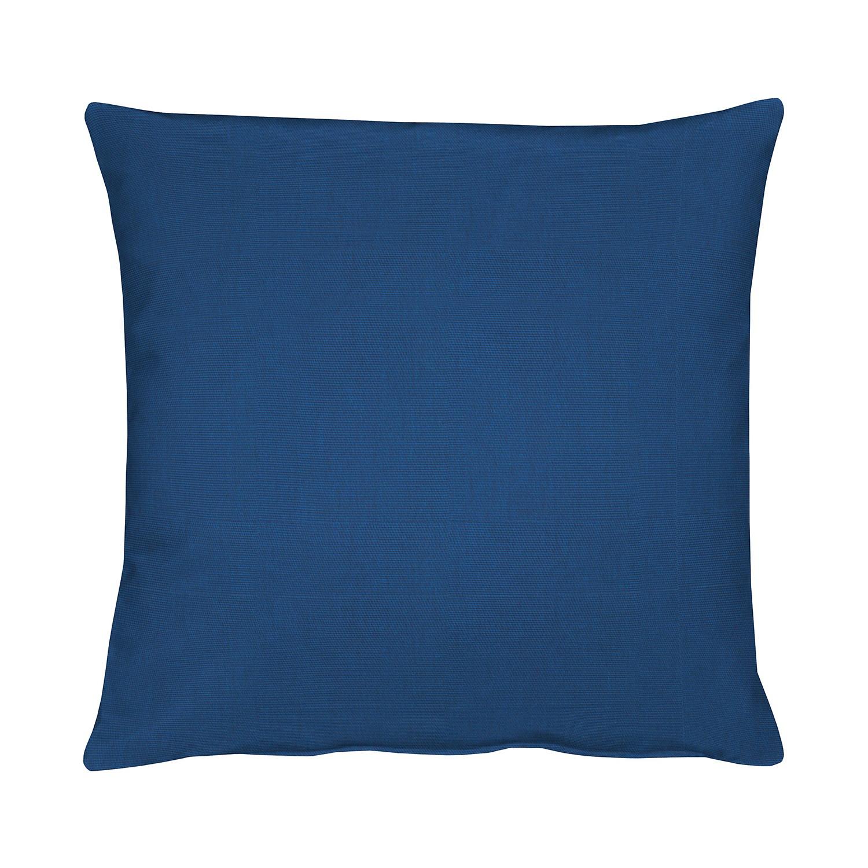 Home 24 - Coussin torino - bleu foncé - 39 x 39 cm, apelt