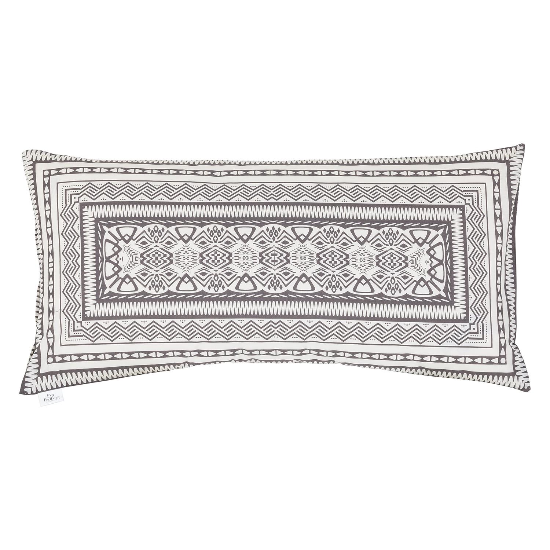 Kussenslopen Sinaloah (2-delige set) - zwart/wit, Eva Padberg Collection