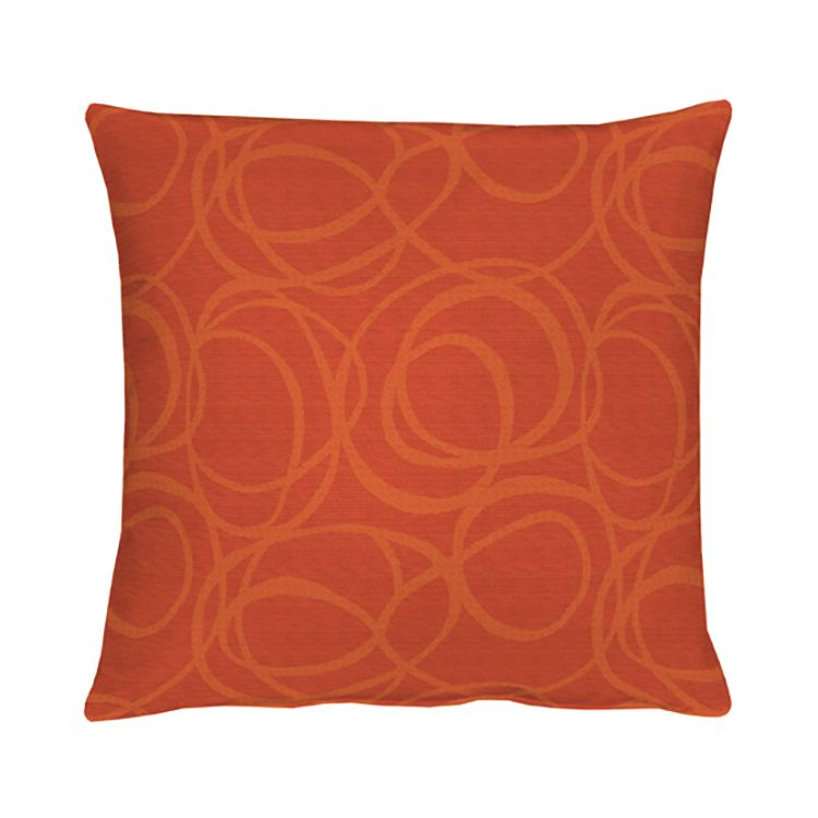 Home 24 - Housse de coussin alabama - rouge / orange - 40 x 40 cm, apelt