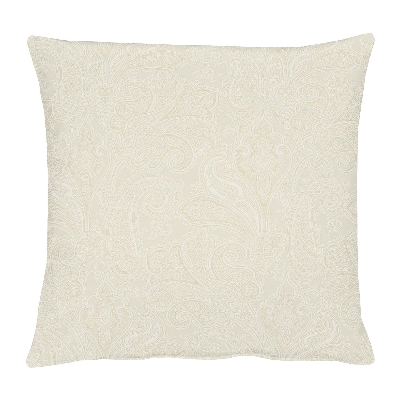 Kussensloop Joseni - geweven stof - Mat vanille - 49x49cm, Apelt
