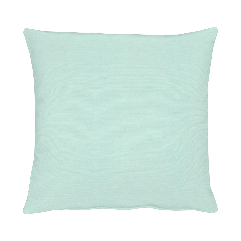 Home 24 - Housse de coussin kanada - bleu / vert - 49 x 49 cm, apelt