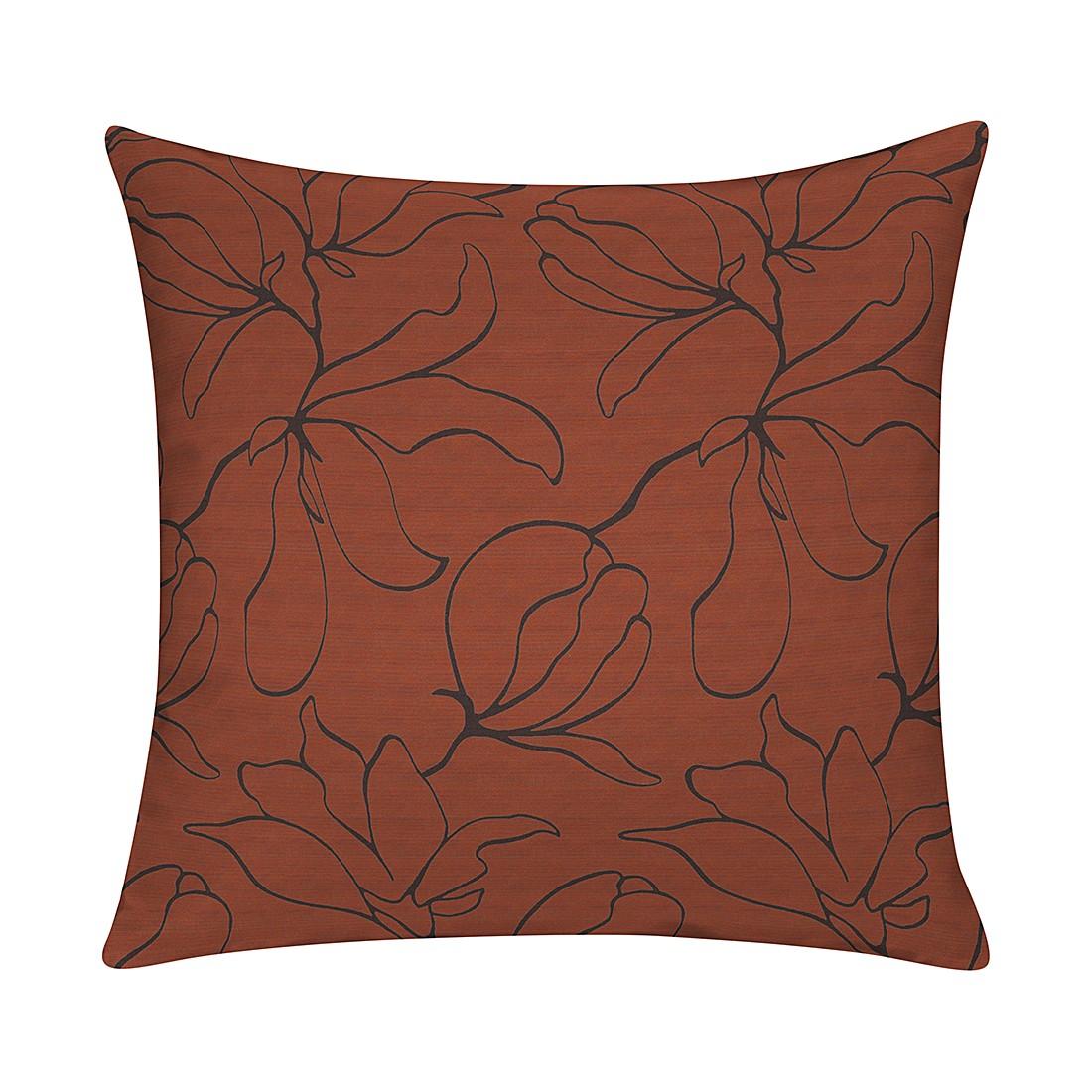 Home 24 - Housse de coussins magnolia - orange chemin de table magnolia - orange 49 x 49 cm, apelt
