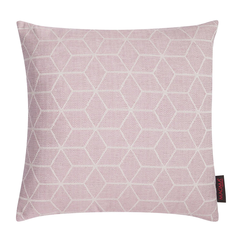 Kussensloop Mono - geweven stof - Roze - 50x50cm, Morteens