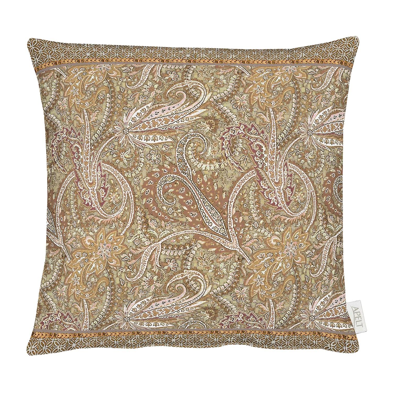 Housse de coussin rospez coton beige apelt meubles en ligne for Housse de coussin original