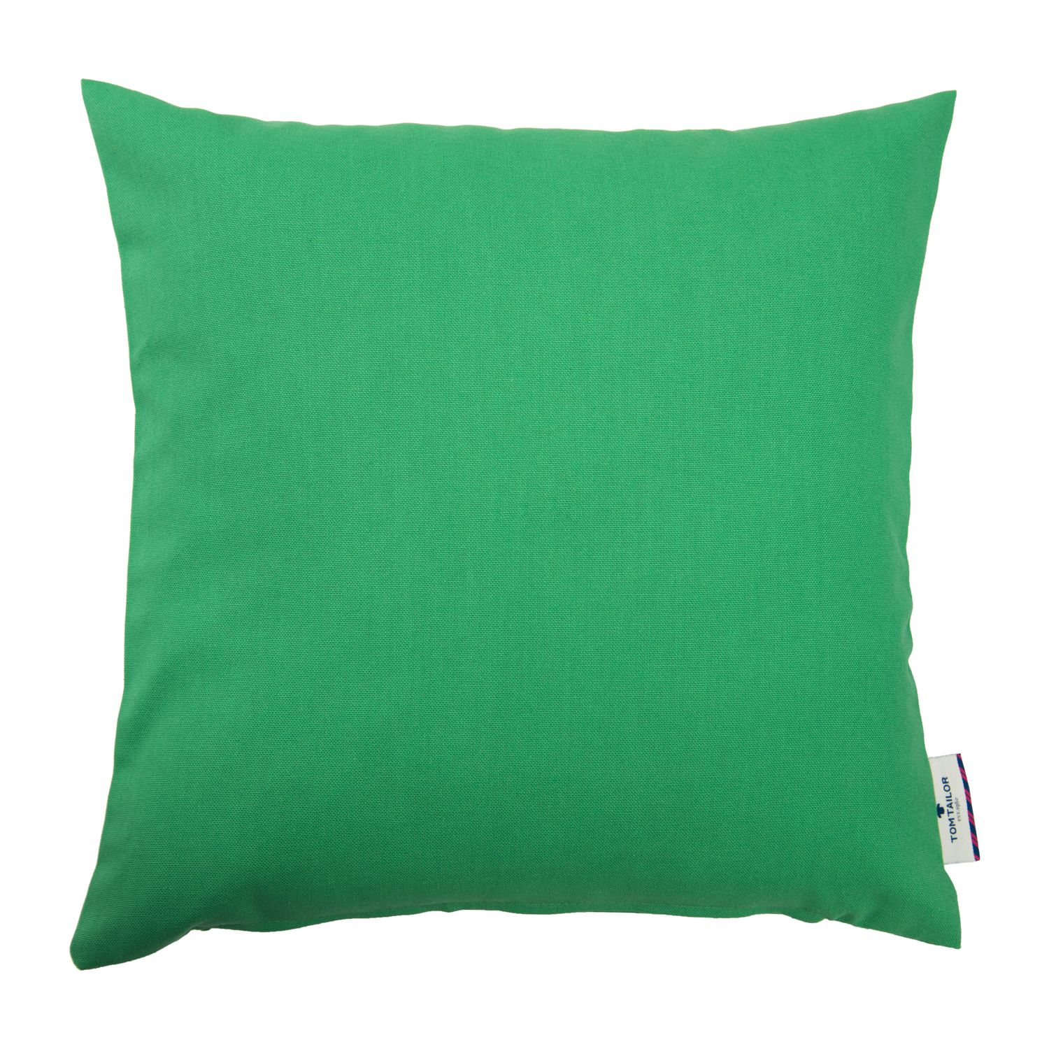 Home 24 - Housse de coussin t-dove - vert kelly - 40 x 40 cm, tom tailor