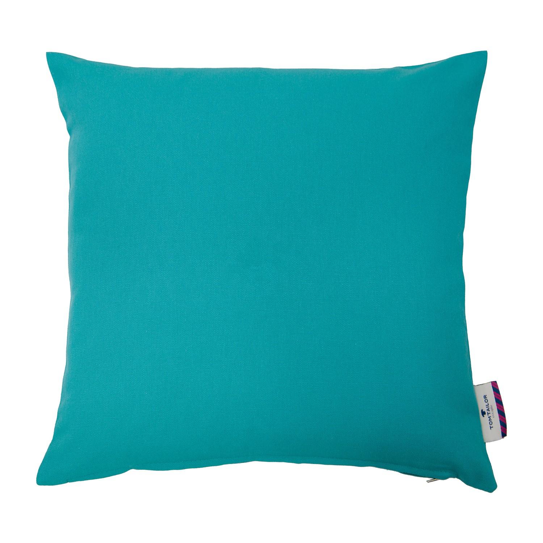 Image of Federa per cuscino T-Dove - Color petrolio - 50x50 cm, Tom Tailor
