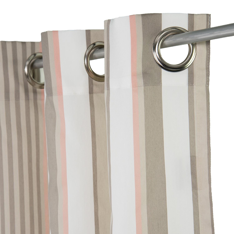 Home 24 - Rideaux à ?illets t-pastel stripes, tom tailor