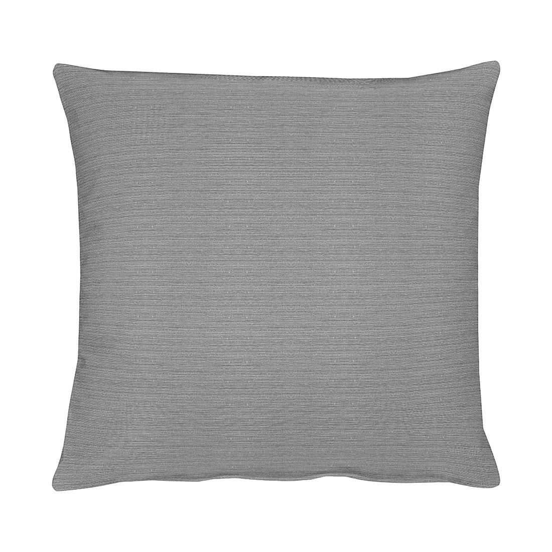 Home 24 - Housse de coussin tizian - argenté gris - 40 x 40 cm, apelt