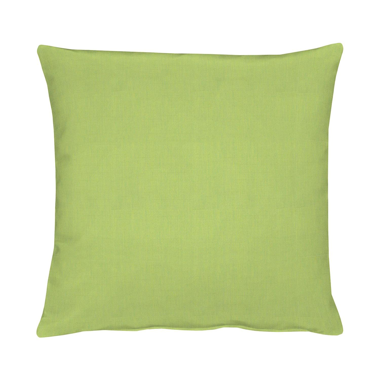 Kussensloop Torino - Groen - 49x49cm, Apelt